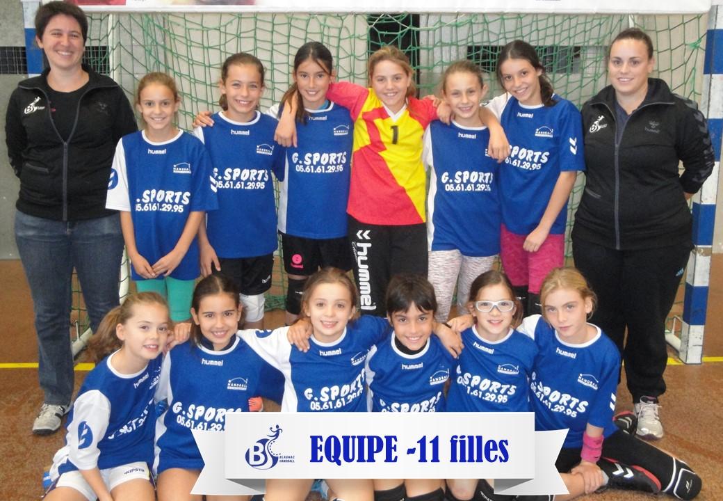 Equipe 11F 2016-2017