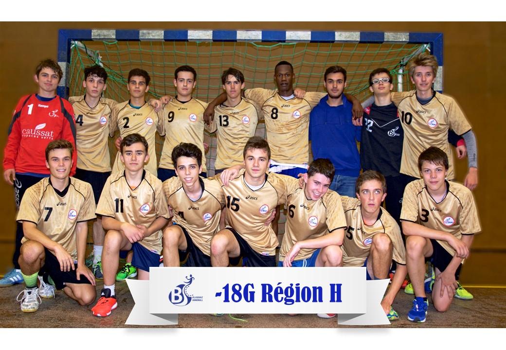 Equipe -18G Region H 2017-2018