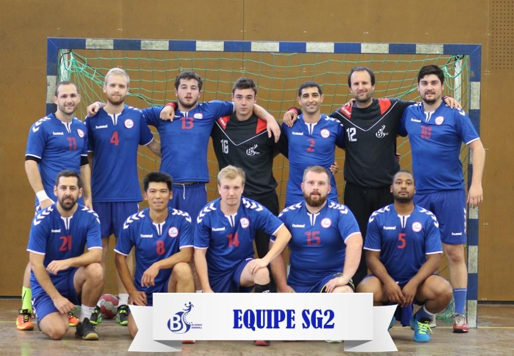 Equipe SG2 2017-2018