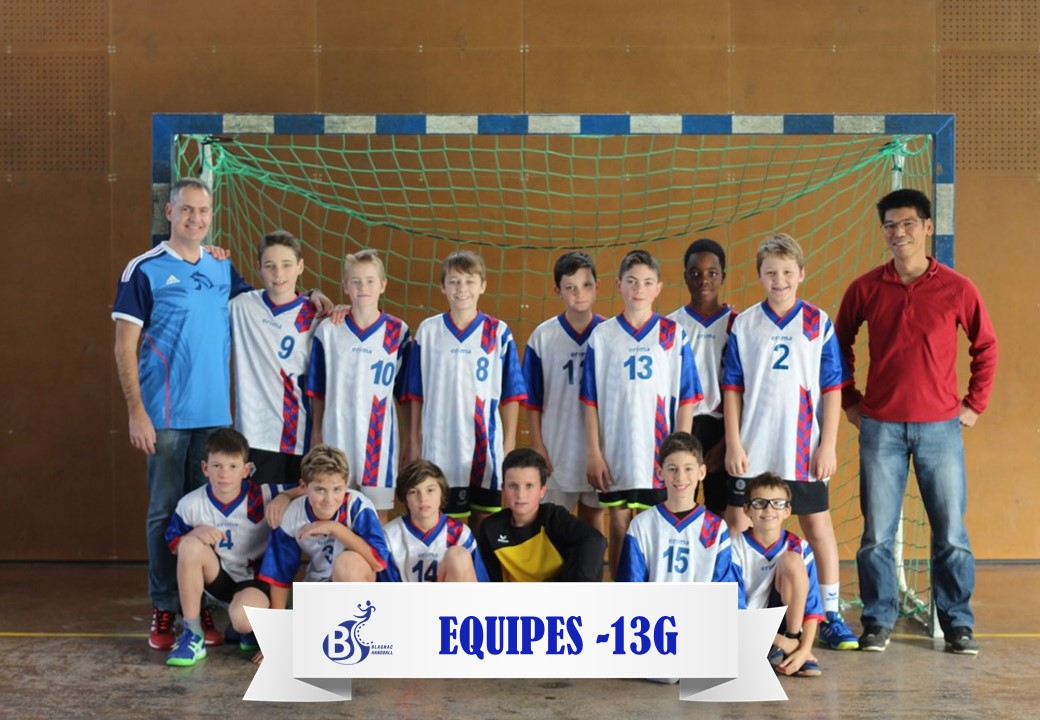 Equipes -13G 2017-2018
