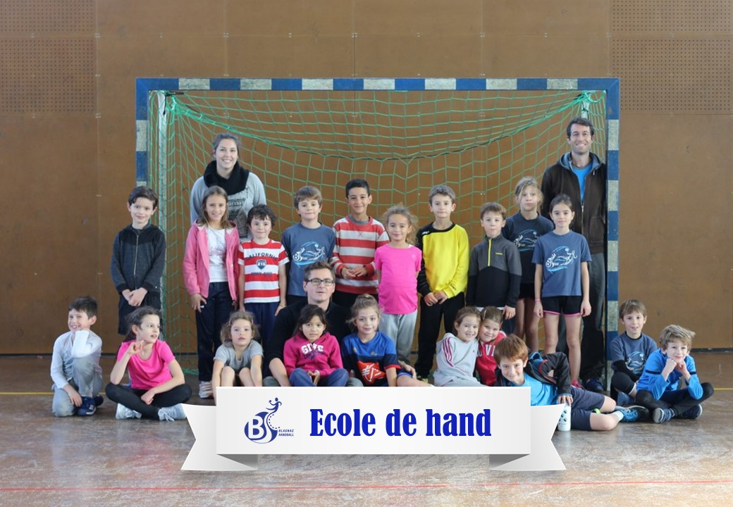 Ecole de hand 2017-2018