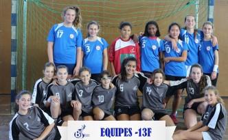 Equipes -13F 2017-2018