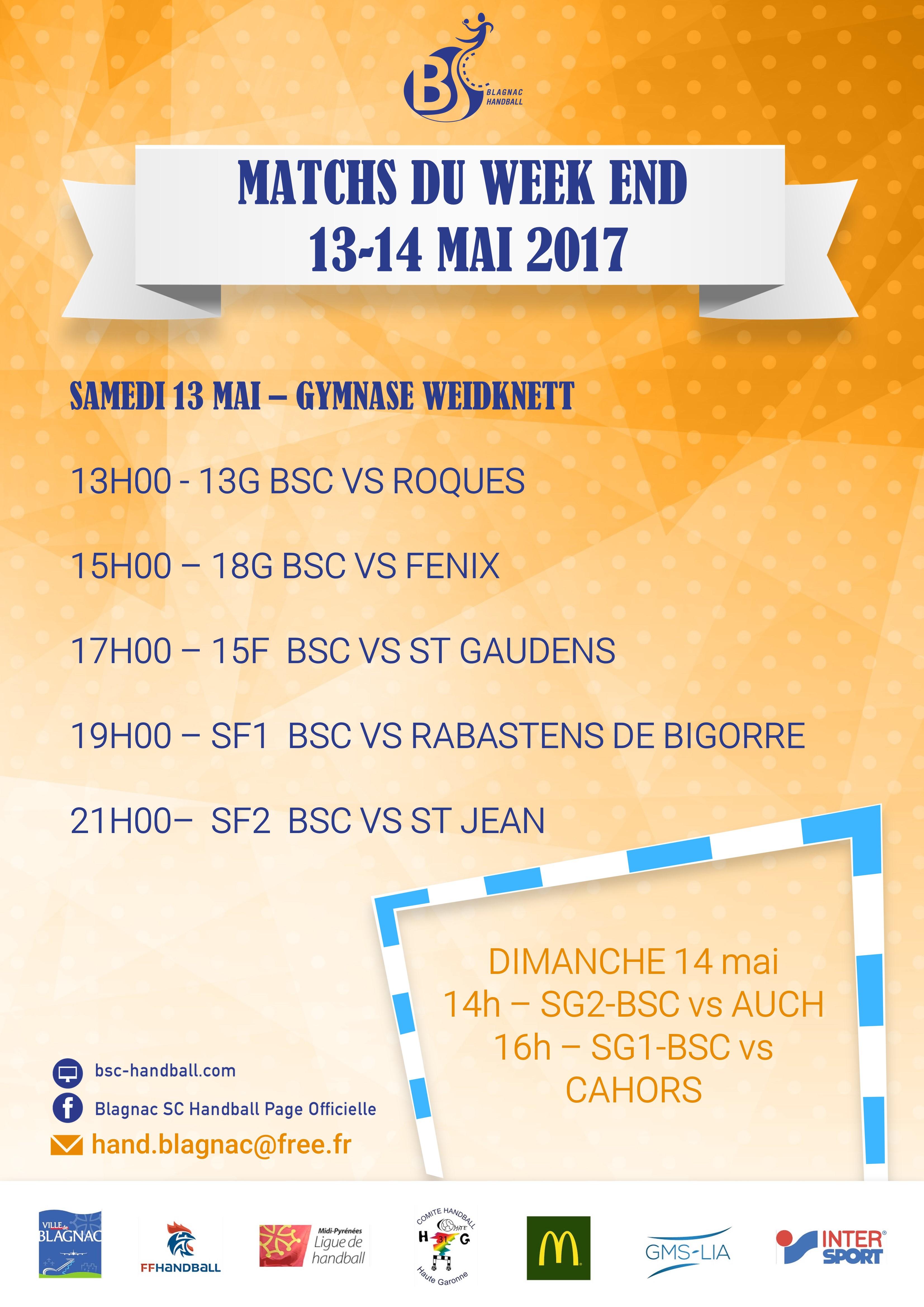 Match week end 13-05-17