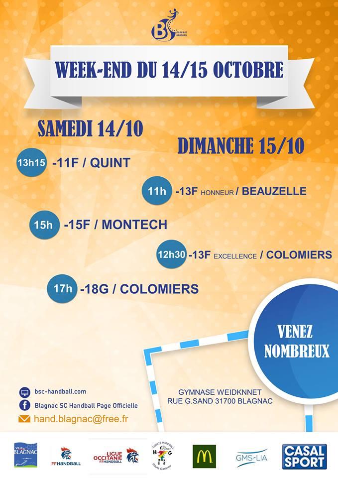 Match week end 17-10-14